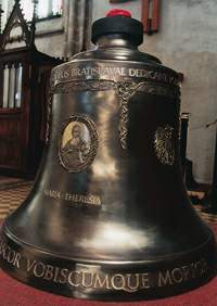 The bell Maria Theresia from The St. Martin´s Cathedral in Bratislava