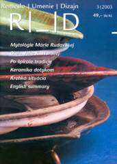 Craft, Art, Design 03/2003