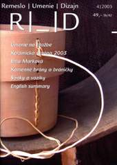 Craft, Art, Design 04/2003