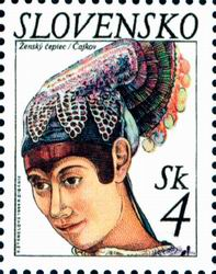 A bonnet from Čajkov
