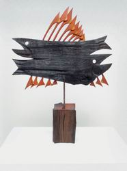 Václav Kautman: Two fish, 1971