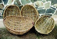 """Opálky"", oval baskets made by all contemporary basket makers"