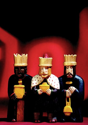 Ján Krajčí: The Three Magi, 1997