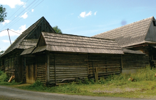 Shingle-roofed houses, Osturňa