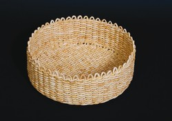 Cornhusk basket made by V. Gyurusiová